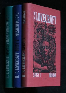 náhled knihy - Spisy 1-3: Hrobka, Měsíční močál, Volání cthulhu