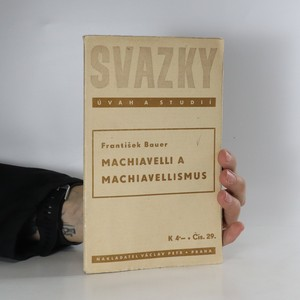 náhled knihy - Machiavelli a machiavellismus