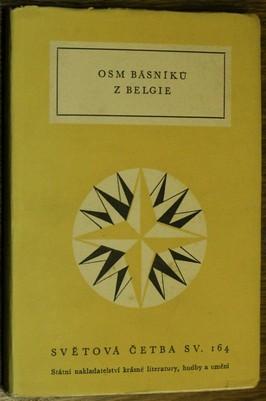 náhled knihy - Osm básníků z Belgie : Výbor z belgické poesie francouzského jazyka