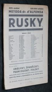 náhled knihy - Rusky