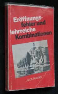náhled knihy - Eröffnungs-fehler und lehrreiche kombinationen