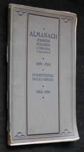 náhled knihy - Almanach zemského reálného gymnasia v Holešově 1899-1924 a studentského spolku Neruda 1904-1924