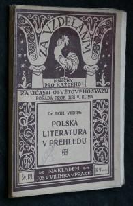 náhled knihy - Polská literatura v přehledu