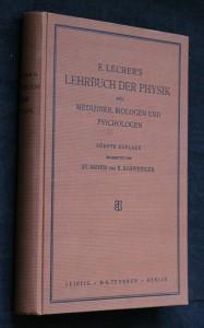 náhled knihy - Lehrbuch der physik für mediziner, biologen und psychologen