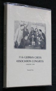 náhled knihy - 11th german chess association congress Cologne 1898 (REPRINT)