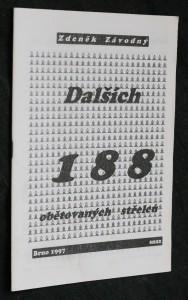 náhled knihy - Dalších 188 obětovaných střelců