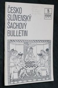náhled knihy - Československý šachový bulletin, č. 8