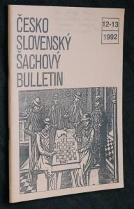 náhled knihy - Československý šachový bulletin, č. 12-13