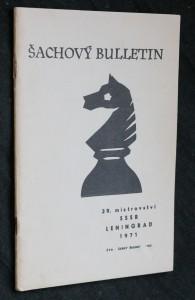 náhled knihy - Šachový bulletin, 39. mistrovství SSSR Leningrad 1971