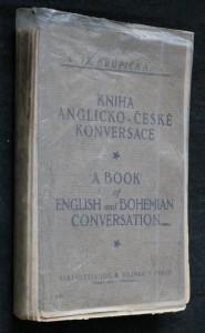 náhled knihy - Kniha anglicko-české konversace