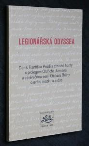 náhled knihy - Legionářská odyssea : deník Fr. Prudila z ruské fronty