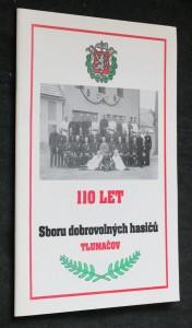 náhled knihy - 110 let sboru dobrovolných hasičů Tlumačov