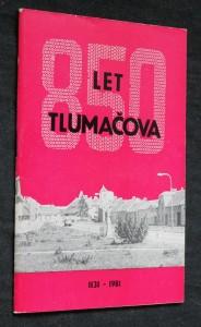 náhled knihy - 850 let Tlumačova