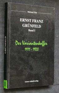náhled knihy - Ernst Franz Grünfeld 1893-1962