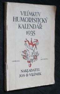 náhled knihy - Vilímkův humoristický kalendář 1935