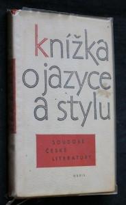 náhled knihy - Knížka o jazyce a stylu soudobé české literatury