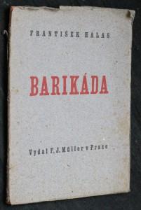 náhled knihy - Barikáda