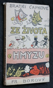 náhled knihy - Ze života hmyzu : komedie o třech aktech s předehrou a epilogem