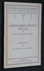 náhled knihy - A midsummer-night's dream