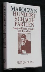 náhled knihy - Maróczy's hundert schachpartien