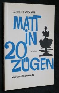 náhled knihy - Matt in 20 zügen
