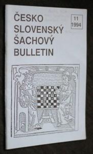 náhled knihy - Československý šachový bulletin, č. 11