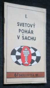 náhled knihy - I. svetový pohár v šachu 1988/1989