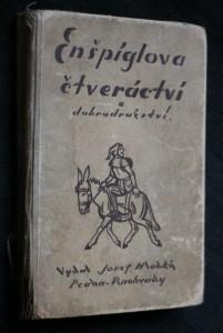 náhled knihy - Enšpíglova čtveráctví a dobrodružství
