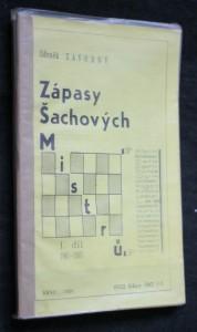 náhled knihy - Zápasy šachových mistrů 1.-4. díl