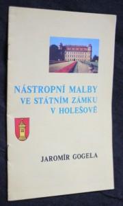 náhled knihy - Nástropní malby ve státním zámku v Holešově