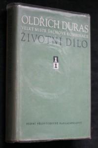 náhled knihy - Oldřich Duras, velký mistr šachové kombinace : Životní dílo