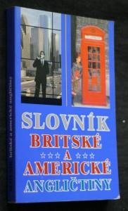 náhled knihy - Slovník britské a americké angličtiny