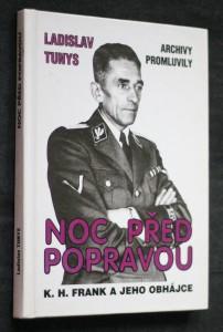 náhled knihy - Noc před popravou : K.H. Frank a jeho obhájce : archivy promluvily