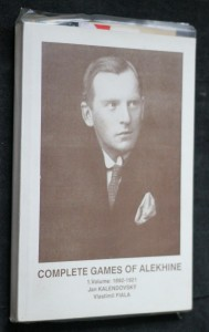 náhled knihy - Complete games of Alekhine. 1. volume, 1892-1921