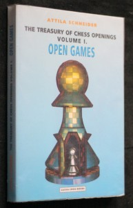 náhled knihy - The treasury of chess openings volume I. Open games