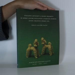 náhled knihy - Významné artefakty a osobní předměty ze sbírky Lenore Doolanové a Hartolda Morrise