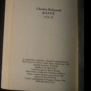 antikvární kniha Básně 1974-1978, 1994