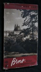 náhled knihy - Brno, okolí a Moravský kras : Průvodce, informace a pokyny