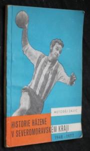 náhled knihy - Historie házené v Severomoravském kraji 1948-1977