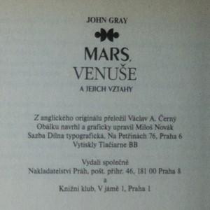 antikvární kniha Mars, Venuše a jejich vztahy, neuveden