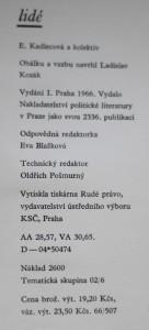 antikvární kniha Bozi a lidé, 1966