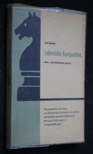 náhled knihy - Lehrreiche kurzpartien