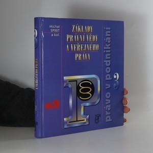 náhled knihy - Základy právní vědy a veřejného práva