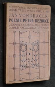 náhled knihy - Poesie Petra Bezruče