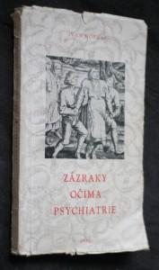 náhled knihy - Zázraky očima psychiatrie