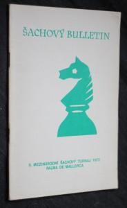 náhled knihy - Šachový bulletin, 8. mezinárodní šachový turnaj 1972 Palma de Mallorca