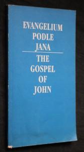 náhled knihy - Evangelium podle Jana = The Gospel of John