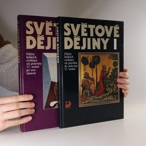 náhled knihy - Světové dějiny I. a II. (2 svazky)