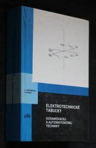 náhled knihy - Elektrotechnické tabuľky oznamovacej a automatizačnej techniky