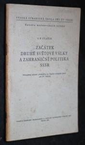 náhled knihy - Začátek druhé světové války a zahraniční politika SSSR (září 1939 - červen 1941)